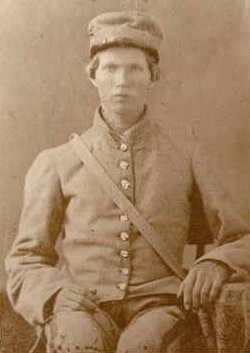George D. Creel, Jr - Civil War Uniform