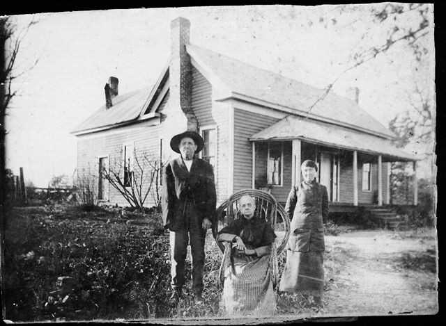 George D. Creel, Jr., wife and house