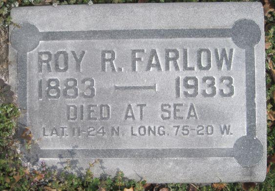 Roy Robert Farlow Grave