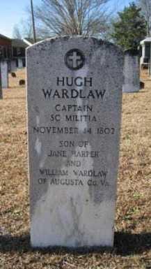 Hugh Wardlaw grave