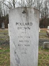 Pollard Brown Grave